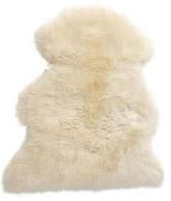 Infant care rug / sheepskin
