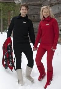 Organic merino wool outdoor pants