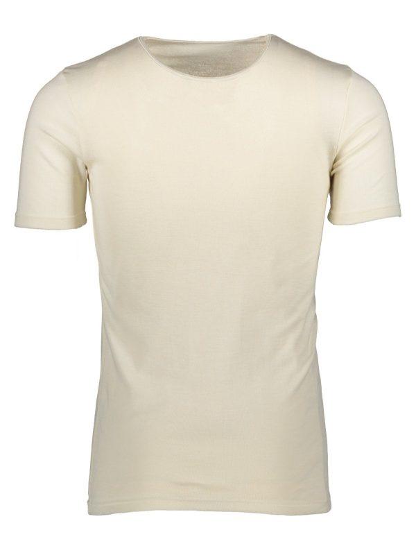 Silk wool t-shirt