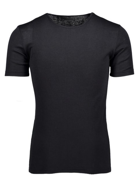 Silk wool t-shirt