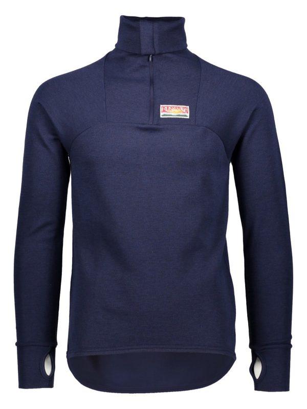 Organic merino wool sports shirt