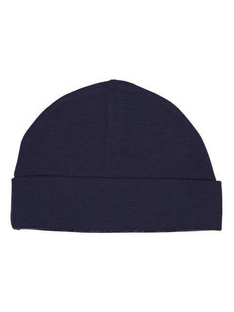 Organic merino wool ski cap