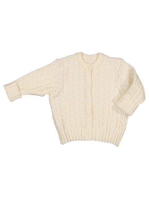 Hat knitted organic merino wool