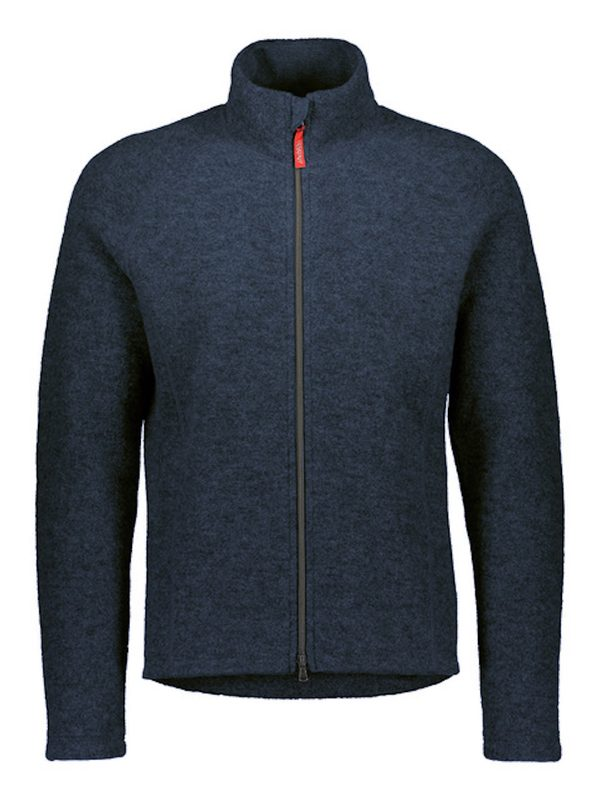 Men S Merino Wool Fleece Blue Ruskovilla